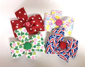 Extra Bows for Valentines, St. Patricks, Easter, Patriotic