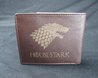 GAME of THRONES House Stark Premium Leather Wallet