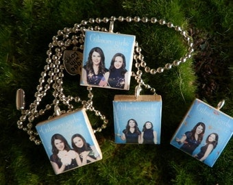 Gilmore Girls A Year In The Life Set Of Four Scrabble Tile Necklace