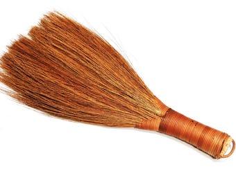 Primitive Utility Broom, Vintage Farmhouse Duster Broom, Fireplace Broom, Americana Folk Art, Rustic Kitsch Home Decor itsyourcountry