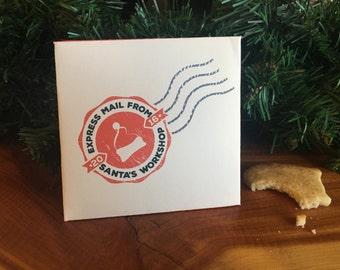 Letter from Santa Digital Printable // DIY letter from Santa // Christmas Printable // Microsoft Word & PDF // Santa Letter Template