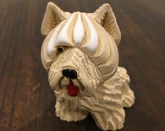 Artesania smaller sheep dog Artesania Rinconada figurine