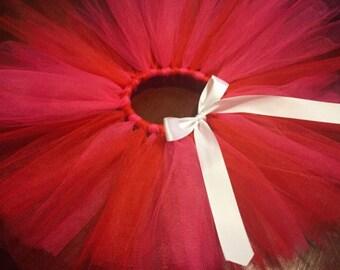 SALE!!! Size newborn-6 Months, Valentine's Day, Tutu, Red and Pink Tutu, Newborn Tutu