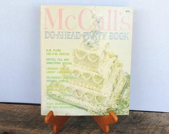 Vintage McCall's Do-Ahead Party Book 1972