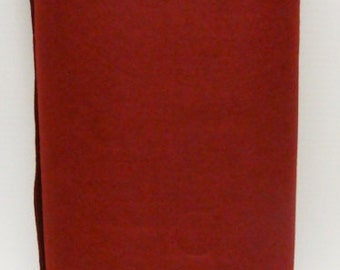 Rustic Crimson 35% Merino Wool Felt Blend Fabric By the Yard from Woolhearts
