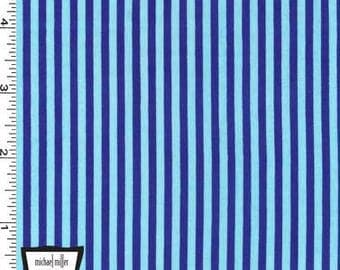 Blueberry Little Stripes from Michael Miller's Little Stripes Collection
