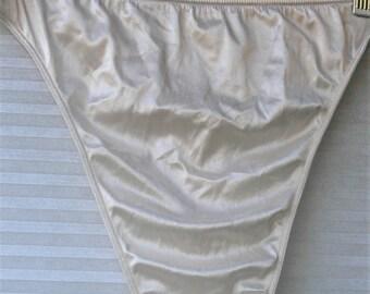 nylon thong panties  size 18-20 plus size