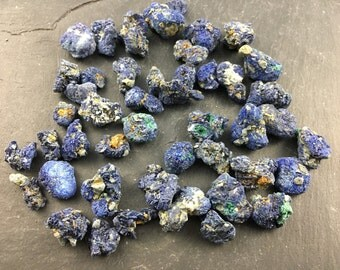 ONE Azurite Raw Natural Crystal