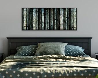 Personalized Horizontal Aspen Layered Illustration
