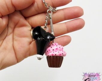 Love Of Cupcakes Keychain