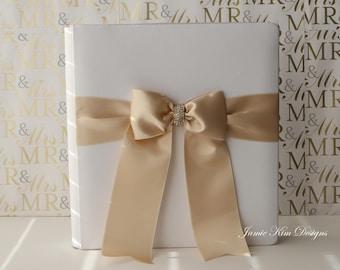 Wedding Album, Photo Album, Scrap Book- (Custom Made)