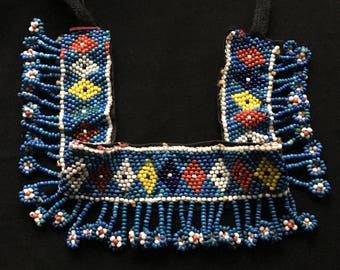 Vintage KUCHI Beaded Head Band Trim Costume Accessory Gypsy TRIBAL Belly Dance Uber Kuchi®