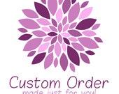 Custom Order #2 for VGS, Paradise Shine Crystal Earrings, Swarovski Elements Chain Earrings