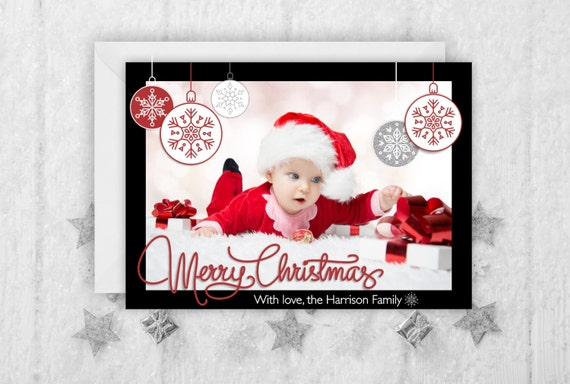 il_570xn - Personalized Holiday Cards