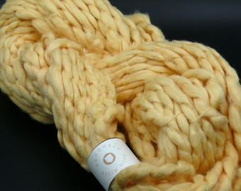 Clearance!  100% Cotton Bulky Fun handspun Thick and Thin Yarn by Saco