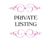 Private listing for Corinne