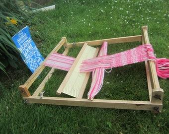 Tabletop Weaving Loom Wooden 18 inch Avalon