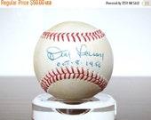 Black Friday Sale 50% OFF 1956 Don Larsen Autographed Signed Baseball New York Yankees World Series