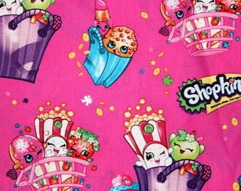 Shopkins Pillowcase, Girls Pillowcase, kids Pillowcase, Pillowcase