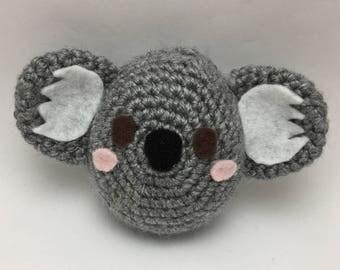 Cute Kawaii Crochet Koala Cover for Tamagotchi Mix