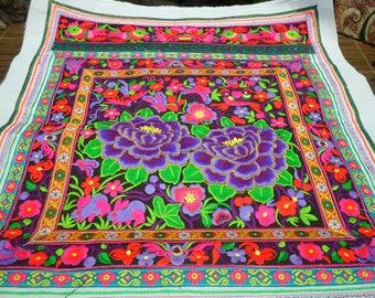 Hmong Design Embroidered Textile