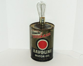 Oil can lamp   Etsy