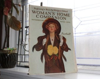 Vintage Woman's Home Companion Magazine November 1913