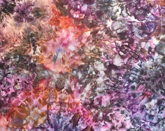 Ice Dyed Fabric, Color Twist, Fat Quarter (MB) #26