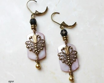 Earrings - Lavender Pink