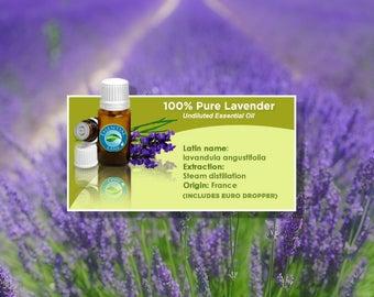 Lavender Essential Oil - 1/2oz