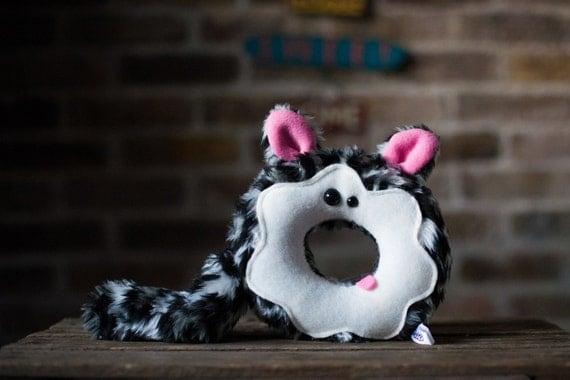 Snow Leopard  Donut Plush *SALE*