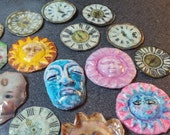 Old Clay art pieces for the Crafter