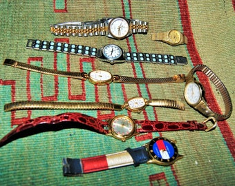 VINTAGE WATCH LOT And Parts