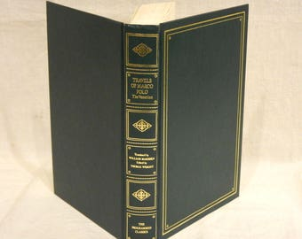 Travels of Marco Polo The Venetian 1960s Programmed Classics Book Green w/ Gilt Trim