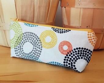 Cosmetic brush bag, pencil case, snack bag, washi tape storage