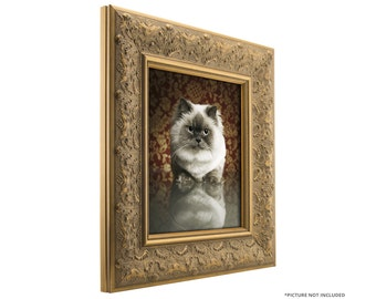 craig frames 17x17 inch gold and bronze picture frame borromini 35 wide 94721717