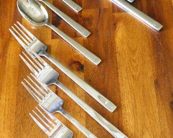 20% OFF--U.S. Airways In-Flight Cutlery--4 Place Setting (Fork, Knife, Spoon)--3 Sets Available