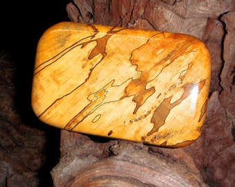 Buckle  Spalted Maple Burl - Exotic Wood Belt Buckle  -Unisex - Mens Buckle - Buckle for the Groom - Mens Buckle - Buckle for her