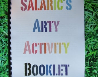 Salaric's Arty Activity Booklet