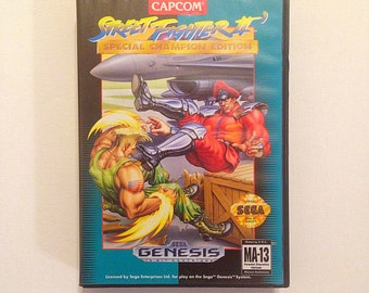 Street Fighter 2 Sega Genesis