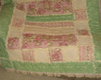 Ruffled Rag Quilt Pattern Digital Download by Sew Practical, Mom and Pop Craft