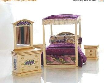 Purple Velvet Bed Etsy