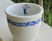 Kenny King's Supreme Restaurants 1958 Mayer China Egg Cup