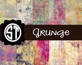 Grunge Vinyl (Indoor, Outdoor,  Glitter vinyl , HTV iron on, Glitter HTV) Lamination available Mask not included