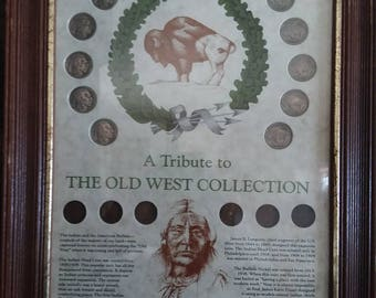 Indian head pennies and Buffalo nickles collection--A tribute to the Old West--Rare **Free shipping**