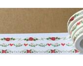 Diary Scrapbook Adhesive Masking Deco Washi Tape - Little Flower Set
