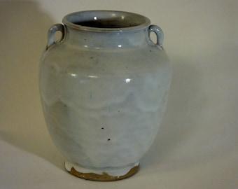 Jugtown Tang Vase in Chinese White Glaze - Ben Owen Sr.