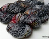 MCN 80/10/10 Sock, 4 ply, Hand Dyed Yarn, SW Merino wool Cashmere Nylon, 435 yds/100g: Hydro-Press.