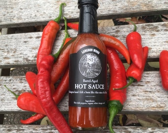 L.W. 1814 Barrel Aged Hot Sauce