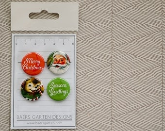 """Badges / Flair buttons """"Seasons Greetings"""""""